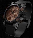 Годинник з місячного пилу та частин Apollo 11