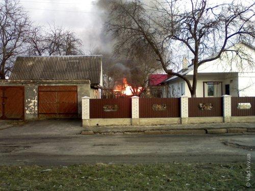 Пожежа в Соснівці