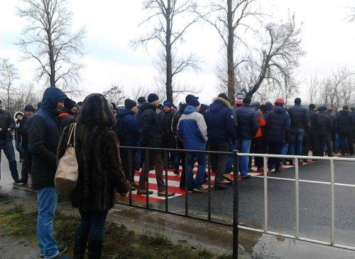 Червоноградські шахтарі перекрили трасу міжнародного значення